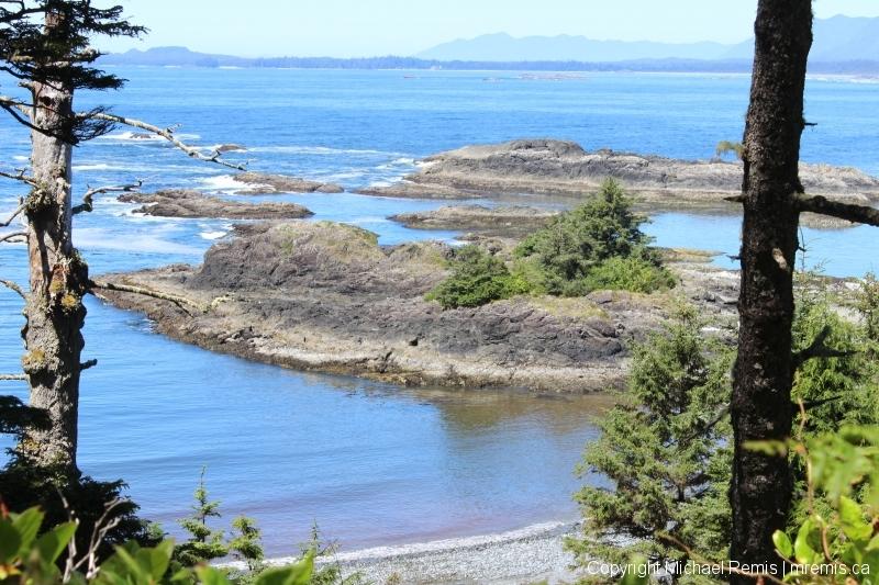 Pacific Rim trail beach
