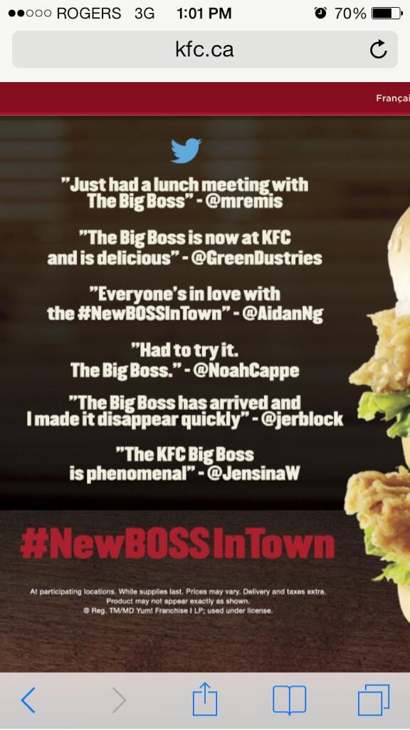 kfc new boss
